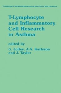 Ebook in inglese T-Lymphocyte and Inflammatory Cell Research in Asthma -, -