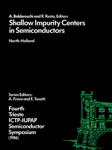 Ebook in inglese Shallow Impurity Centers in Semiconductors -, -