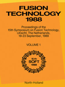 Ebook in inglese Fusion Technology 1988