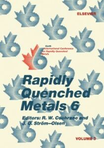 Ebook in inglese Rapidly Quenched Metals 6: Volume 3 -, -