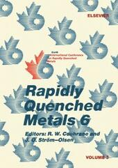 Rapidly Quenched Metals 6: Volume 3