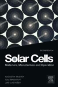 Ebook in inglese Solar Cells Castaner, L. , Markvart, Tom , McEvoy, Augustin