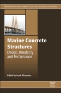Ebook in inglese Marine Concrete Structures -, -