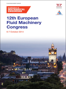 Ebook in inglese Fluid Machinery Congress 6-7 October 2014 IMechE