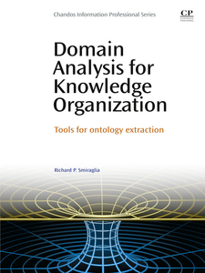 Ebook in inglese Domain Analysis for Knowledge Organization Smiraglia, Richard