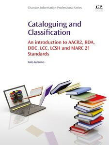 Ebook in inglese Cataloguing and Classification Lazarinis, Fotis