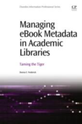 Managing ebook Metadata in Academic Libraries