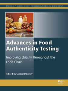 Ebook in inglese Advances in Food Authenticity Testing -, -