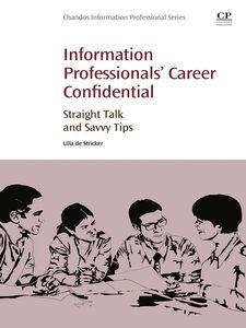 Ebook in inglese Information Professionals' Career Confidential de Stricker, Ulla