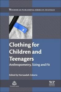 Ebook in inglese Clothing for Children and Teenagers Zakaria, Norsaadah