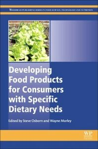 Ebook in inglese Developing Food Products for Consumers with Specific Dietary Needs