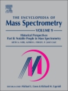 Ebook in inglese The Encyclopedia of Mass Spectrometry, Volume 9 -, -