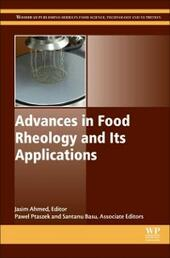 Advances in Food Rheology and Its Applications