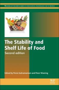 Ebook in inglese Stability and Shelf Life of Food -, -