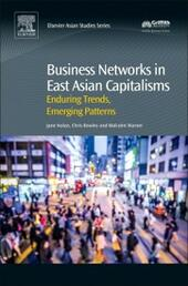 Business Networks in East Asian Capitalisms