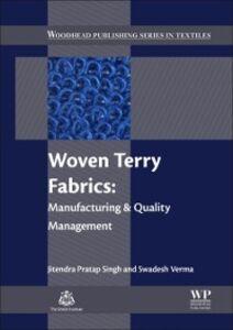 Ebook in inglese Woven Terry Fabrics Singh, Jitendra Pratap , Verma, Swadesh