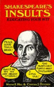 Shakespeare's Insults - William Shakespeare - cover