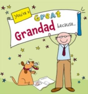 You're a Great Grandad Because. . . - Ged Backland - cover