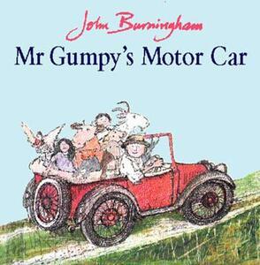 Mr Gumpy's Motor Car - John Burningham - cover