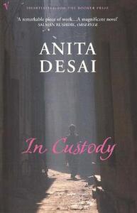In Custody - Anita Desai - cover