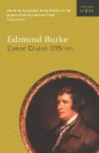 Edmund Burke - Conor Cruise O'Brien - cover