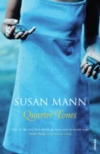 Quarter Tones - Susan Mann - cover