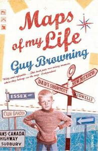 Maps of My Life - Guy Browning - cover