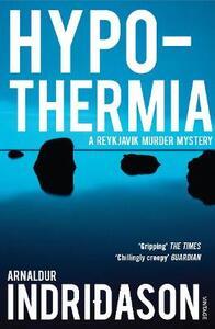 Hypothermia - Arnaldur Indridason - cover