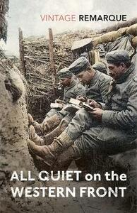 All Quiet on the Western Front - Erich Maria Remarque - cover