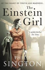 The Einstein Girl - Philip Sington - cover