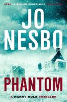 Phantom: Harry Hole 9 - Jo Nesbo - cover
