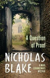 A Question of Proof - Nicholas Blake - cover