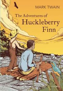 The Adventures of Huckleberry Finn - Mark Twain - cover
