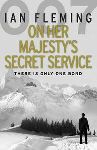 On Her Majesty's Secret Service - Ian Fleming - cover