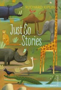 Just So Stories - Rudyard Kipling - cover