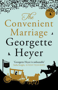 The Convenient Marriage - Georgette Heyer - cover