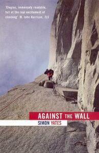 Against The Wall - Simon Yates - cover