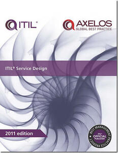ITIL service design - Great Britain: Cabinet Office - cover