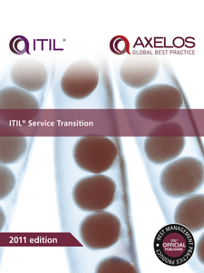 Ebook in inglese ITIL Service Transition AXELOS