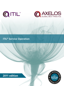 Ebook in inglese ITIL Service Operation AXELOS