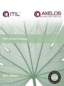 Ebook in inglese ITIL Service Strategy N.N, AXELOS