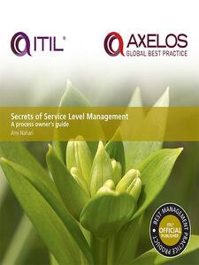 Ebook in inglese Secrets of Service Level Management Nahari, Ami