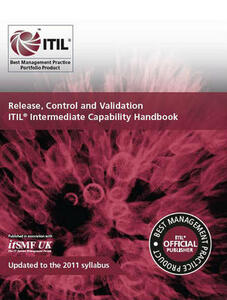 Release, control and validation: ITIL intermediate capability handbook - Duncan Anderson,Stationery Office - cover