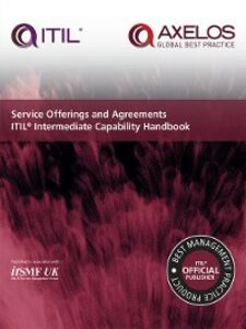 Foto Cover di Service Offerings and Agreements ITIL Intermediate Capability Handbook, Ebook inglese di itSMF UK, edito da The Stationery Office Ltd