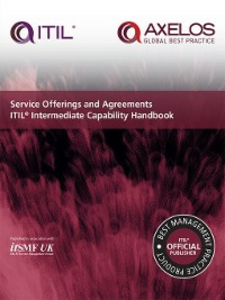 Ebook in inglese Service Offerings and Agreements ITIL Intermediate Capability Handbook UK, itSMF
