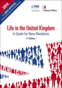 Life in the United Kingdom: a guide for new residents [large print version] - Great Britain: Home Office - cover