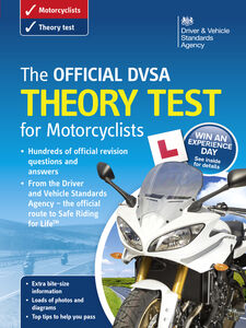 Foto Cover di The Official DVSA Theory Test for Motorcyclists, Ebook inglese di DVSA The Driver and Vehicle Standards Agency, edito da The Stationery Office Ltd