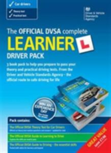 The official DVSA complete learner driver pack - Driver and Vehicle Standards Agency (DVSA) - cover