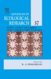 Population Dynamics and Laboratory Ecology - cover
