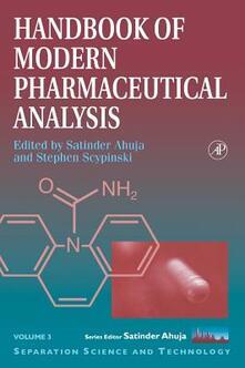 Handbook of Modern Pharmaceutical Analysis - cover